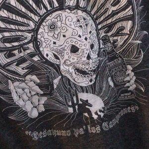 Lucky brand tequila sunrise t shirt